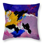 Abstract 760170 Throw Pillow
