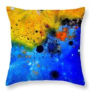 Abstract 767b Throw Pillow