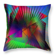 Abstract 7690 Throw Pillow