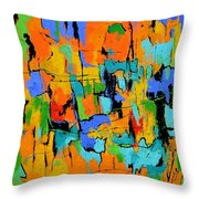 Abstract 7761701 Throw Pillow
