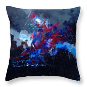 Abstract 77902171 Throw Pillow