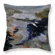 Abstract 780808 Throw Pillow
