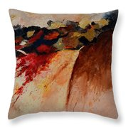 Abstract 7861 Throw Pillow