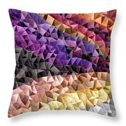 Abstract #795 Throw Pillow
