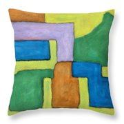 Abstract 809 Throw Pillow