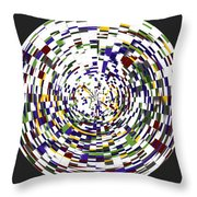 Abstract 813 Throw Pillow