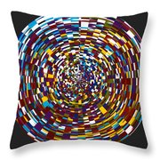 Abstract 814 Throw Pillow