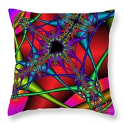 Abstract 82 Throw Pillow