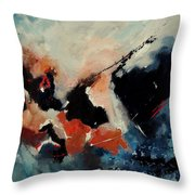 Abstract 88012090 Throw Pillow