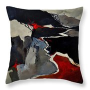 Abstract 881110 Throw Pillow