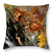 Abstract 8811113 Throw Pillow
