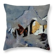 Abstract 88112012 Throw Pillow