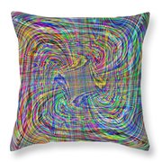 Abstract 9 Throw Pillow