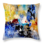 Abstract 900003 Throw Pillow