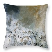 Abstract 904023 Throw Pillow