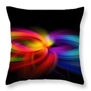 Abstract 9154 Throw Pillow