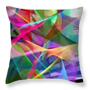 Abstract 9488 Throw Pillow