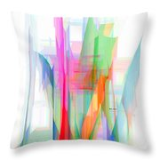 Abstract 9501-001 Throw Pillow