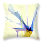 Abstract 9503-001 Throw Pillow
