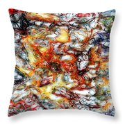 Abstract 9591 Throw Pillow