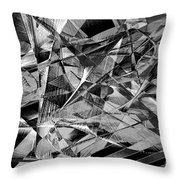 Abstract 9637 Throw Pillow