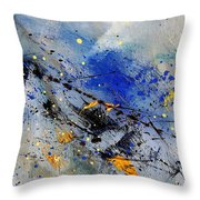 Abstract 969090 Throw Pillow