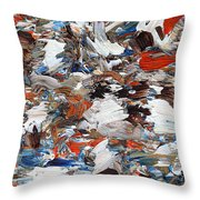 Abstract 971 Throw Pillow