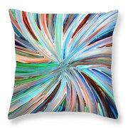 Abstract A331716 Throw Pillow