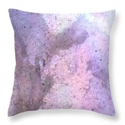 Abstract Abalone One Throw Pillow