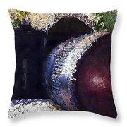 Abstract Analog Camera Throw Pillow