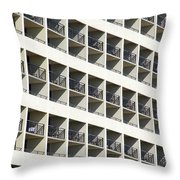 Abstract Architecture Throw Pillow