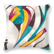 Abstract Art 105 Throw Pillow