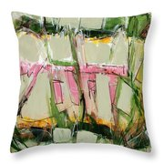 Abstract Art Fifty-six Throw Pillow