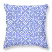 Abstract Art - Lavender Throw Pillow