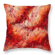 Abstract Art Nineteen Throw Pillow