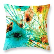 Abstract Art - Possibilities - Sharon Cummings Throw Pillow