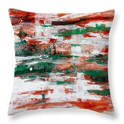 Abstract Art Project #24 Throw Pillow