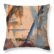 Abstract At Sea 3 Throw Pillow