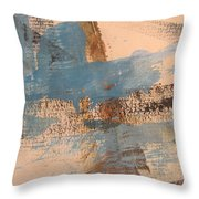 Abstract At Sea 4 Throw Pillow