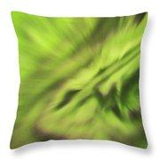 Abstract Aurora Throw Pillow