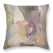 Abstract Aviary Throw Pillow
