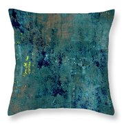 Abstract Back Cover Design  Throw Pillow