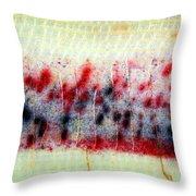 Abstract Banana Trunk 3 Throw Pillow