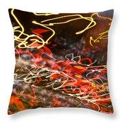 Abstract Berlin Wall 6 Throw Pillow