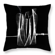 Abstract Bottles  Throw Pillow
