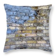 Abstract Brick 6 Throw Pillow