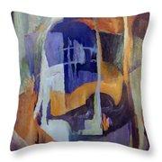 Abstract Bridges Throw Pillow