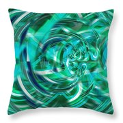 Abstract Brutality The Vortex Throw Pillow