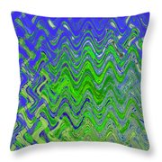 Abstract By Photoshop 50 Throw Pillow