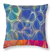 Cells 7 - Abstract Painting Throw Pillow